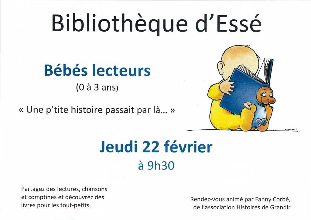 2018-02-22 - Bébés lecteurs 9h30