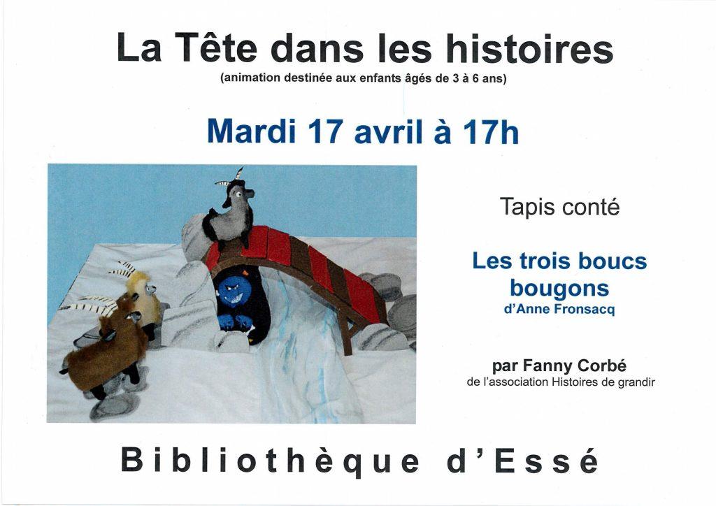 2018-04-17 - La Tête dans les histoires